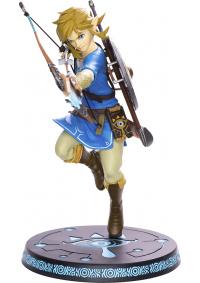 Figurine (Statue) 10 Pouces En PVC The Legend Of Zelda Breath Of The Wild Par First 4 Figures - Link