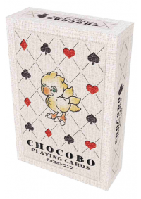 Cartes à Jouer Final Fantasy - Chocobos