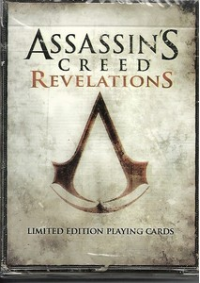 Cartes à Jouer Assassin's Creed Revelation Limited Edition Playing Cards