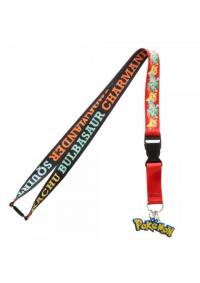 Lanière de Cou (Lanyard) Pokemon - 4 Starters