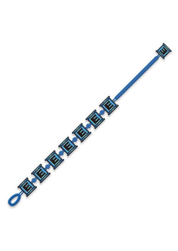 Bracelet Brodé Megaman - E-Tank