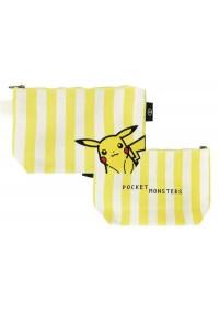 Étui à Crayons Pokemon - Pikachu Rayures Jaunes