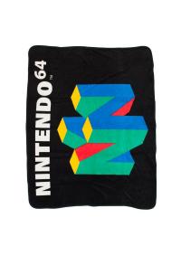 Jeté en Molleton Nintendo - Logo N64