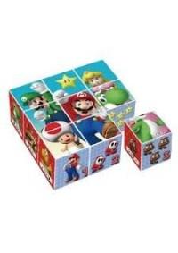 Casse-Tête 9 Cubes Super Mario