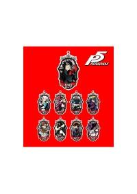Porte-Clé Emblème Acrylique Persona 5