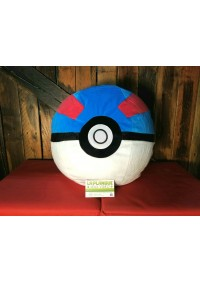 Coussin (Toutou) Pokémon - Pokeball Greatball Par Banpresto