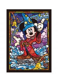 Casse-Tête Vitrail - Mickey Mouse 266 Pièces