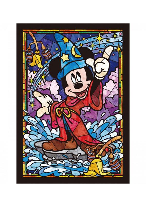 Casse-Tête Vitrail - Mickey Mouse Sorcier (Fantasia) 266 Pièces