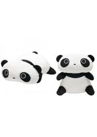 "Toutou Laying On Back Panda De 16"" Par Jamma"