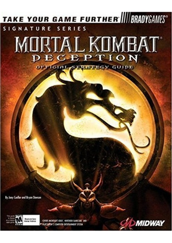 Guide Mortal Kombat Deception par Bradygames