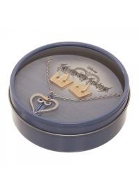 Boîte Cadeau Kingdom Hearts - Collier et Boucles d'Oreille