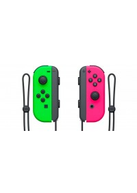 Manette Joy-Con Neon Verte Et Rose Pour Nintendo Switch (Neon Joy-Con) - Gauche & Droite