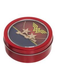 Boîte Cadeau Wonder Woman - Collier et Boucles d'Oreille