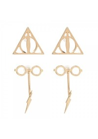 Boucles d'oreille Harry Potter - Set de 2 Paires