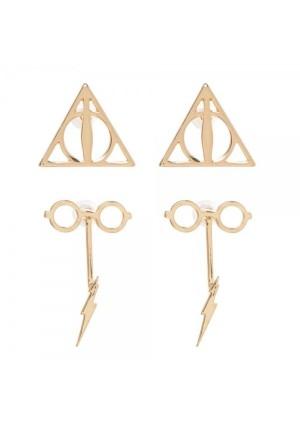 Boucles d'oreille Harry Potter - Set de 2 Paires