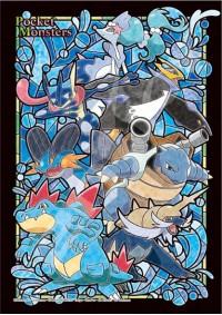 Casse-Tête Vitrail Pokemon - Évolution Starter Eau 208 Pièces