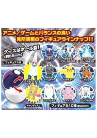 Gashapon Pokeball Pokemon Get Collection Bonbon Alola