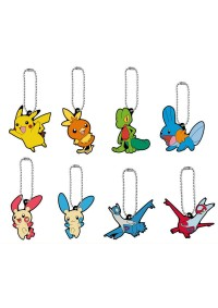 Gashapon Pokemon En Caoutchouc A Accrocher - Pokemon Vol.7