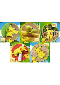 Gashapon Pokemon - Pikachu En Action