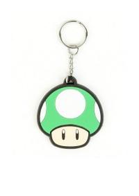 Porte-Clé en Caoutchouc Super Mario - 1UP Mushroom
