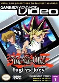 Game Boy Advance Video Yu-Gi-Oh! Yugi Vs. Joey Volume 1