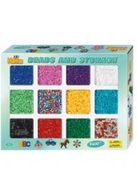 Kit de Perles Hama 9600 Perles avec Compartiment