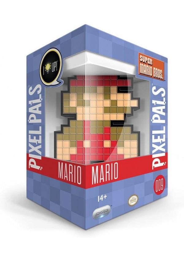 Figurine Lumineuse Pixel Pals Super Mario Bros # 009 - Mario Édition 8 Bits