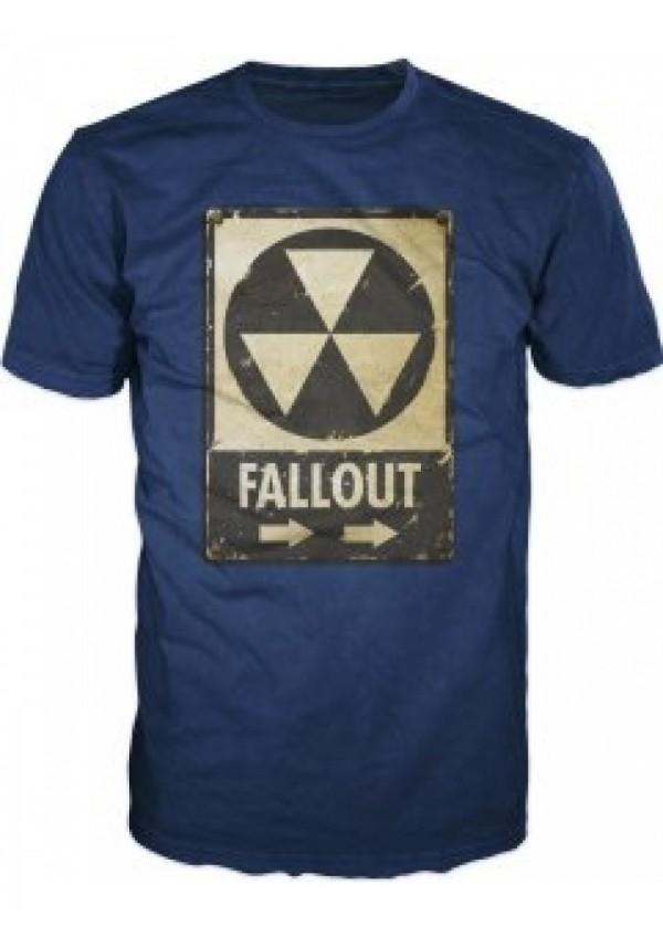 T-Shirt Fallout - Biohazard Logo