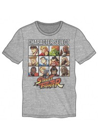 T-Shirt Street Fighter -