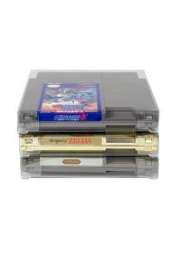 Boite de Plastique Molle Transparente Protectrice pour Cartouche de NES Par EvoRetro