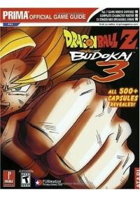 Guide Dragon Ball Z Budokai 3 Par Prima