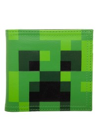Portefeuille Minecraft - Creeper