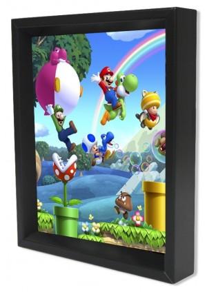 Cadre Holographique New Super Mario Bros. U