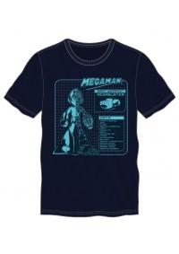 T-Shirt Mega Man - Data