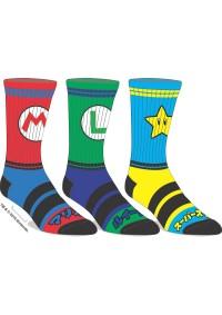 Chaussettes Super Mario - Paquet de 3 Paires