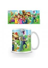 Tasse Super Mario - Plein de Personnages (11 oz)