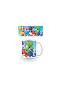 Tasse Super Mario - Plein de Yoshis (11 oz)