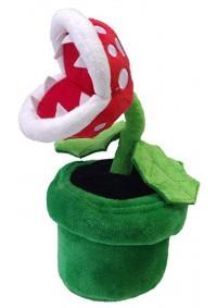 Toutou Super Mario Par Sanei - Plante Piranha 9 Pouces