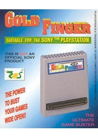 Gold Finger Pour Playstation, PS1