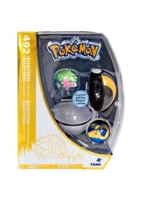Figurine Et Pokeball 20e Anniversaire De Pokemon - 492 Shaymin