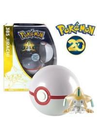 Figurine Et Pokeball 20e Anniversaire De Pokemon - 385 Jirachi