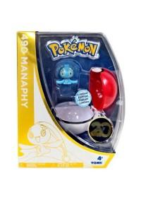 Figurine Et Pokeball 20e Anniversaire De Pokemon - 490 Manaphy