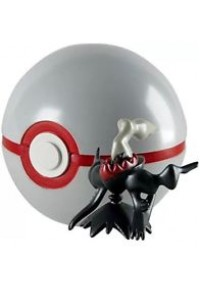 Figurine Et Pokeball 20e Anniversaire De Pokemon - 491 Darkrai