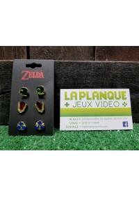 Boucles d'Oreilles Legend of Zelda - Paquet de 3 Paires (Éléments)