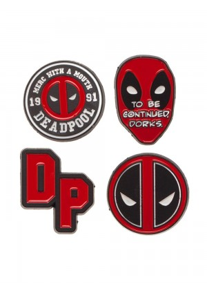Épinglettes Marvel Deadpool - Kit de 4