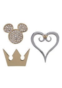 Épinglettes (Pins) Disney Kingdom Hearts - Kit de 3