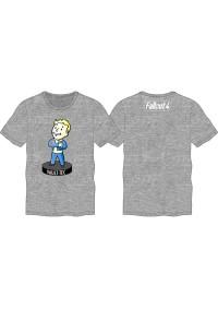 T-Shirt Fallout - Bobblehead Vault Boy Fallout 4