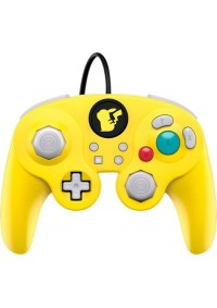 Manette Fight Pad Pro Avec Fil USB Pour Switch Par PDP - Pikachu