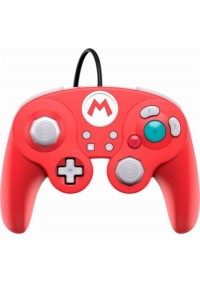 Manette Fight Pad Pro Avec Fil USB Pour Switch Par PDP - Mario