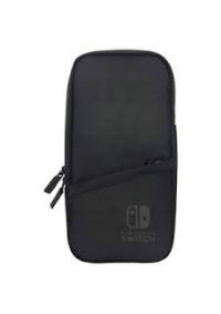 Étui De Transport Souple Pour Nintendo Switch Slim Pouch Par Hori - Noir